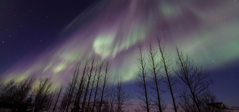 Reykjavík City Goes Dark for the Northern Lights