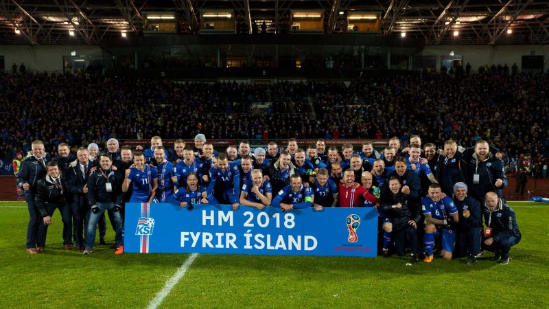 Iceland are going to the World Cup in Russia!