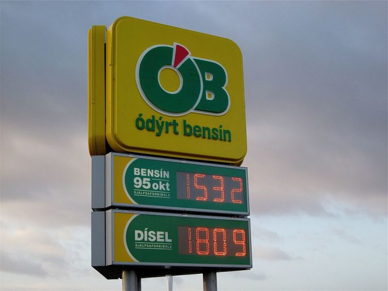 Where To Get The Cheapest Fuel In Iceland