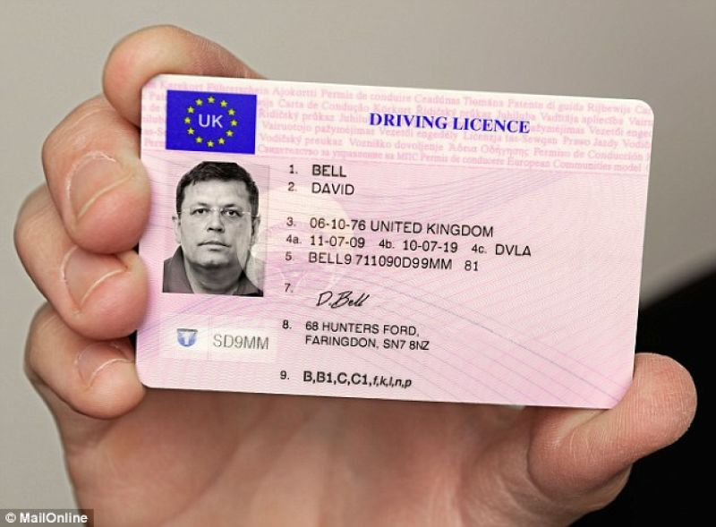 Drivers licence iceland