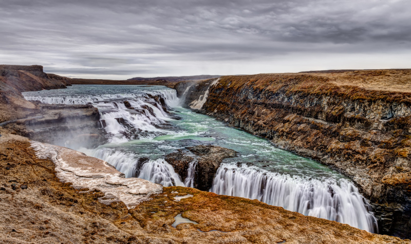 Gullfoss in Iceland Golden Circle