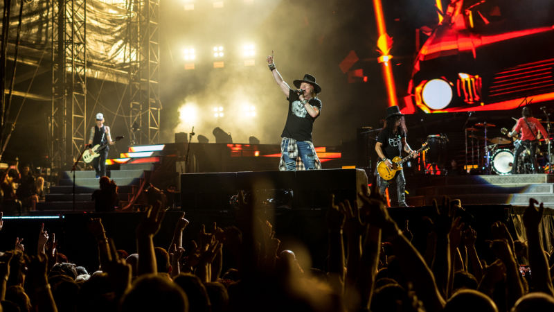 Guns N' Roses To Perform In Iceland This Summer