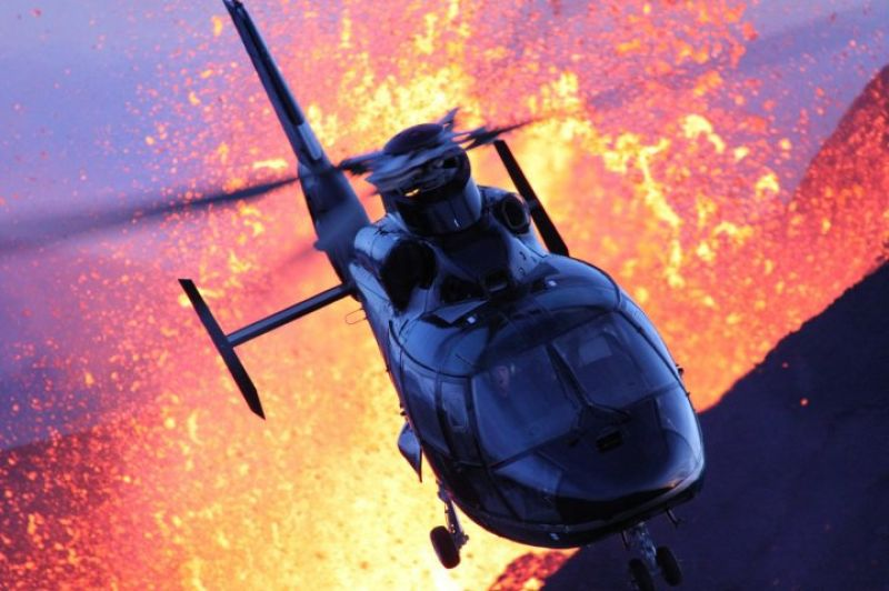 Iceland volcano helicopter tour