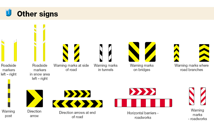 Iceland Traffic Signs - Other Signs