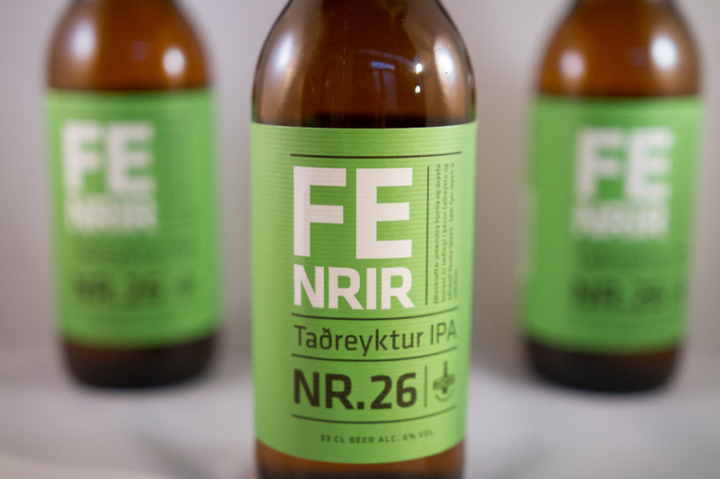 Fenrir Icelandic Beer Made from Sheep Shit