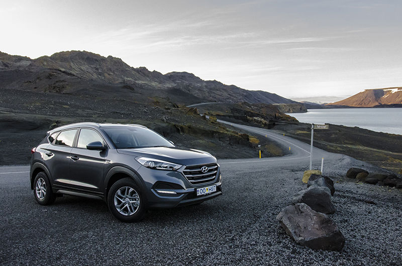Rent A Hyundai Tucson 4x4 Automatic 2016 In Iceland