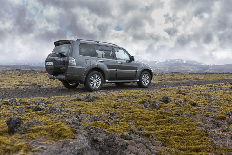 Rent A Mitsubishi Pajero 4x4 In Iceland Northbound Is