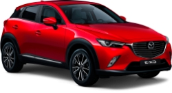 2018 Mazda CX-3 AWD (or similar)