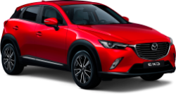 2016 Mazda CX-3 AWD (or similar)