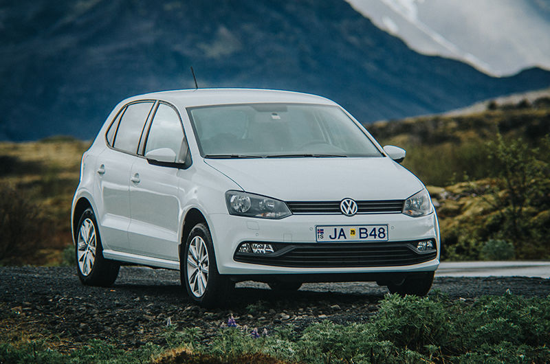 Rent A Volkswagen Polo In Iceland Northbound Is