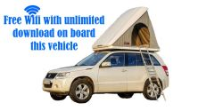 2014 Suzuki Grand Vitara +Roof Tent