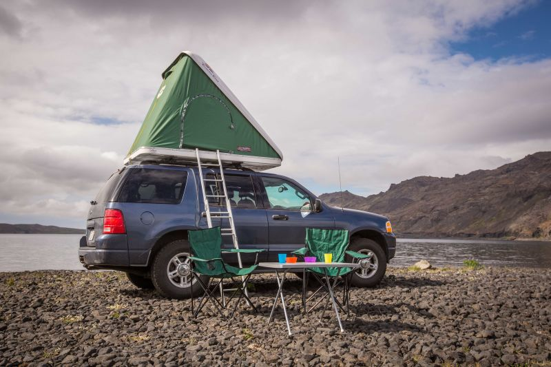 2014 Suzuki Jimny +Roof Tent & Rent a Suzuki Jimny +Roof Tent in Iceland - Northbound.is