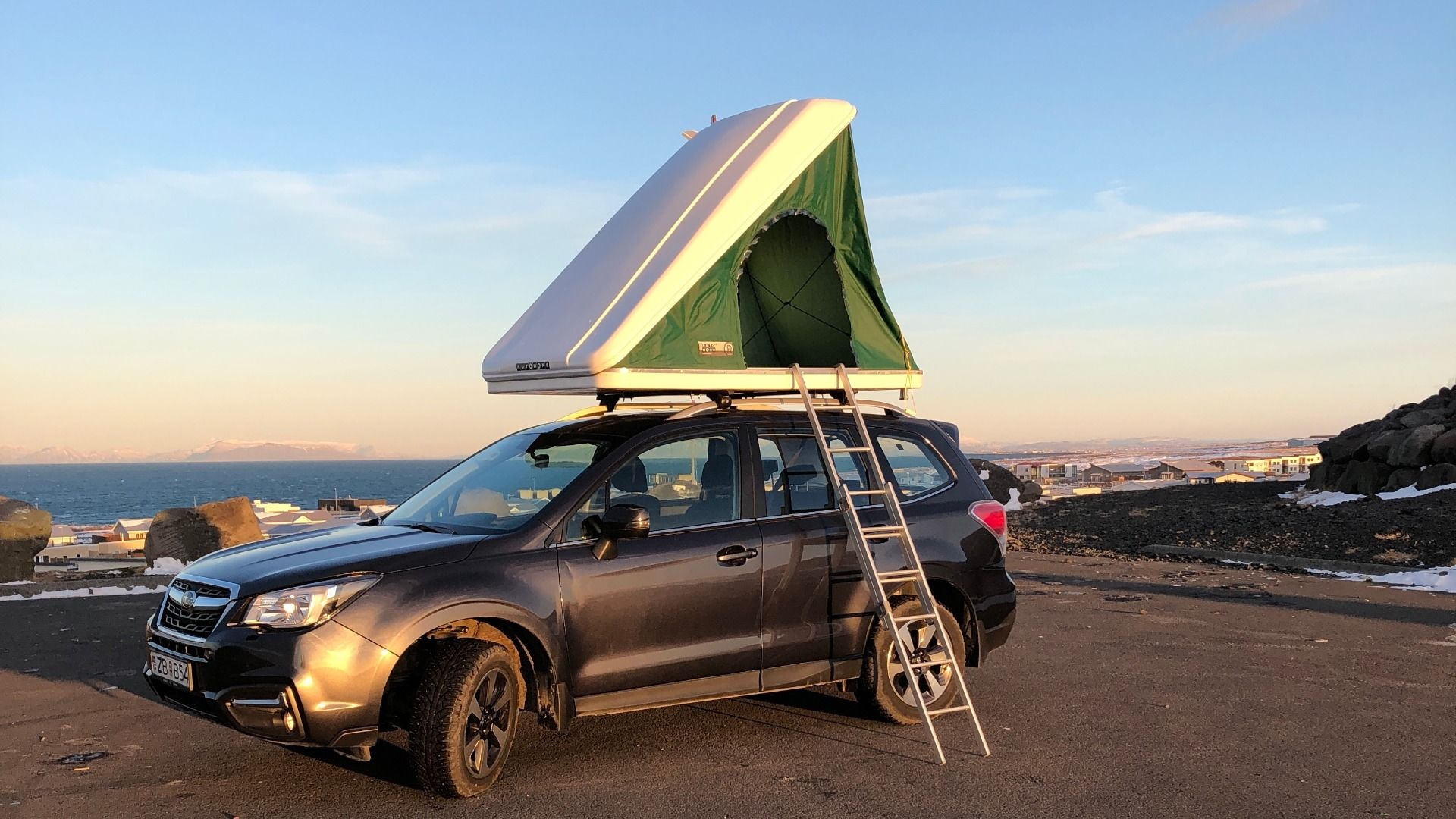Rent A Subaru Forester Roof Tent For 2 Persons In