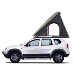 2017 Dacia Duster + Roof Tent for 2 persons